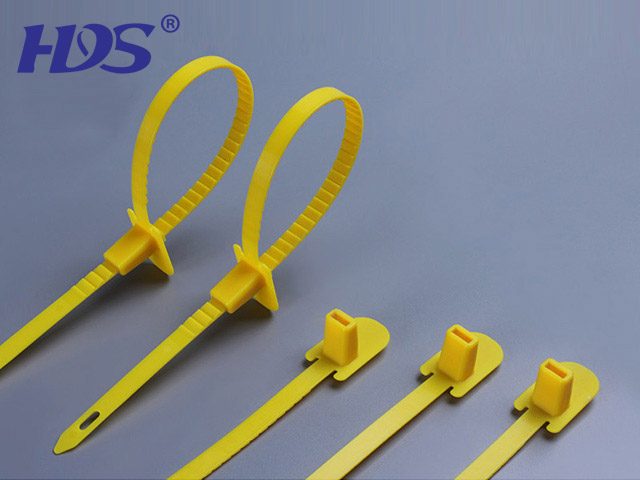 Lead sealing ties